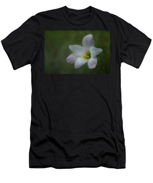 Rain Lily Men's T-Shirt (Athletic Fit)