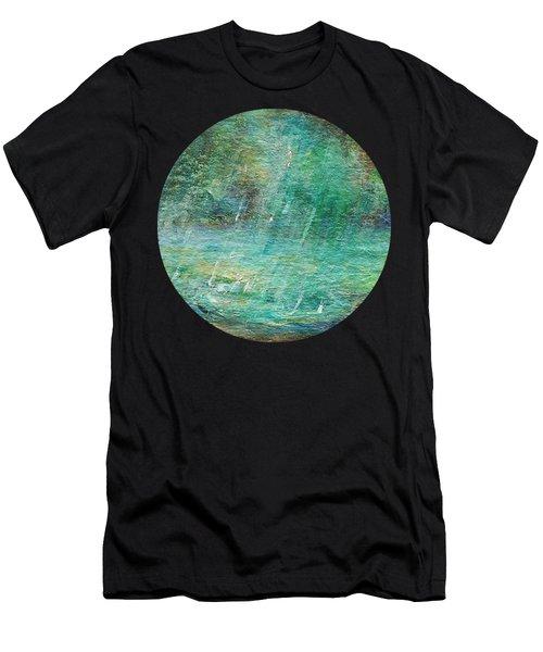 Rain On The Pond Men's T-Shirt (Athletic Fit)
