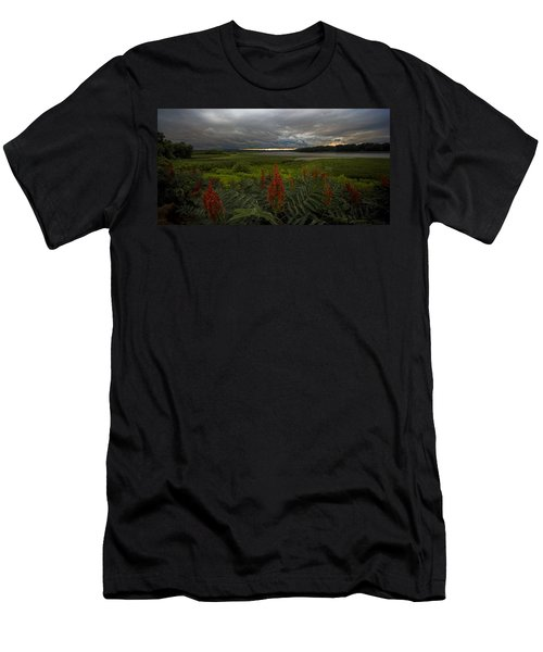 Rain Over The Mohawk Men's T-Shirt (Athletic Fit)