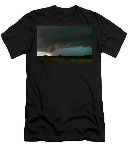 Rain-wrapped Tornado Men's T-Shirt (Athletic Fit)