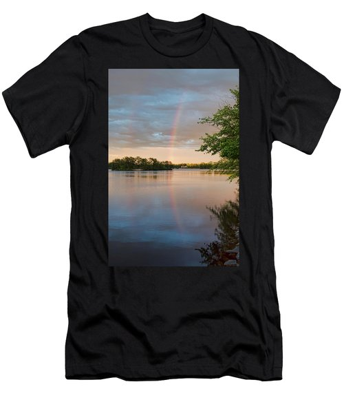 Rainbow After The Storm Men's T-Shirt (Athletic Fit)