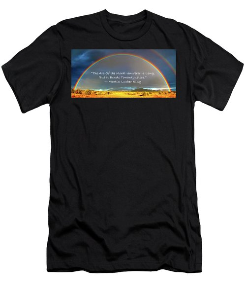 Martin Luther King - Justice Men's T-Shirt (Athletic Fit)