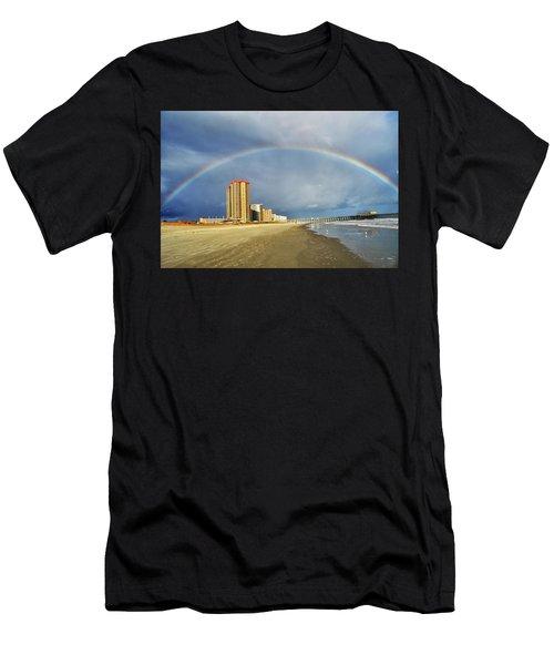 Rainbow Beach Men's T-Shirt (Athletic Fit)