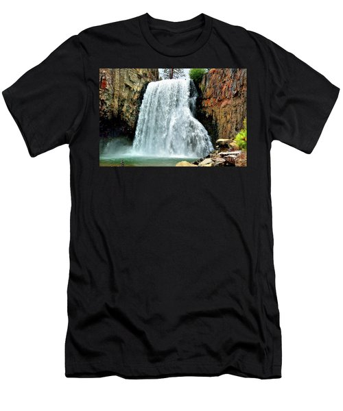 Rainbow Falls 16 Men's T-Shirt (Athletic Fit)