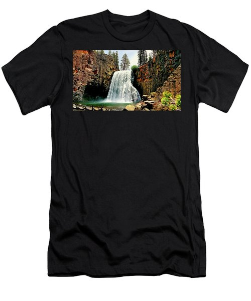 Rainbow Falls 8 Men's T-Shirt (Athletic Fit)