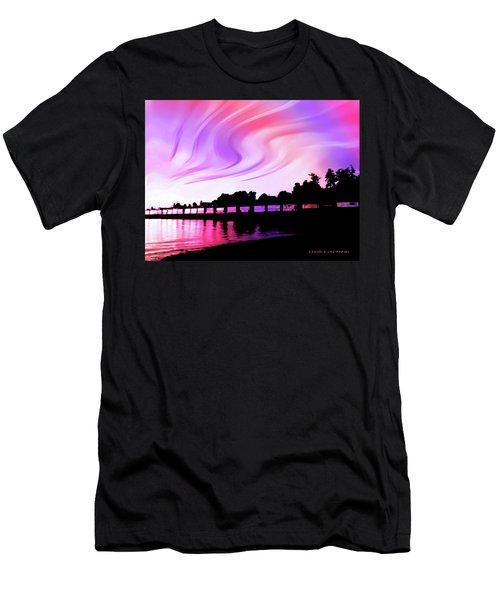 Rainbow Fantasy Men's T-Shirt (Athletic Fit)
