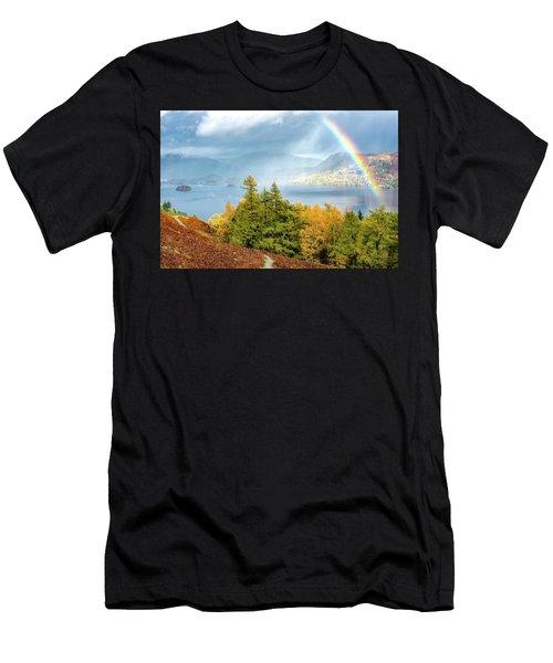 Rainbow Gold Men's T-Shirt (Athletic Fit)