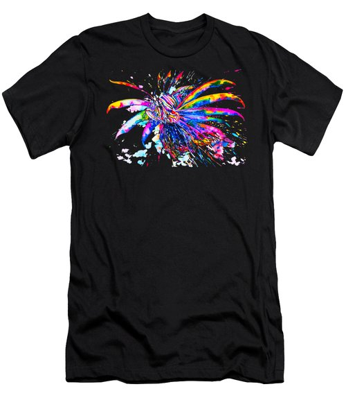 Rainbow Lionfish Men's T-Shirt (Athletic Fit)
