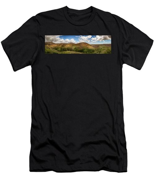 Rainbow Mountain Men's T-Shirt (Athletic Fit)