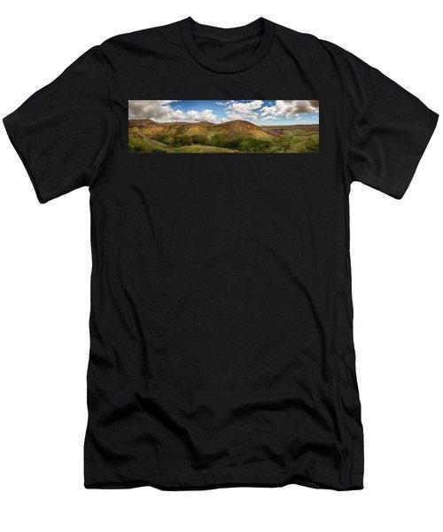 Rainbow Mountain Men's T-Shirt (Athletic Fit)