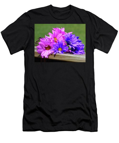 Rainbow Mums 2 Of 5 Men's T-Shirt (Athletic Fit)