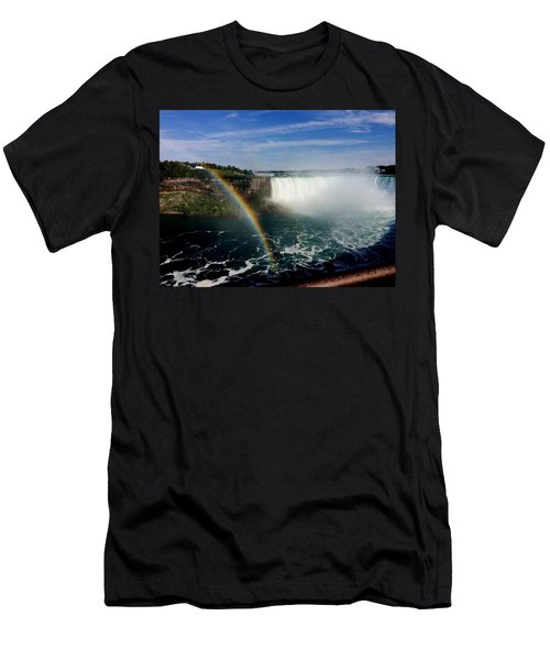 Rainbow Over Horseshoe Falls Men's T-Shirt (Athletic Fit)