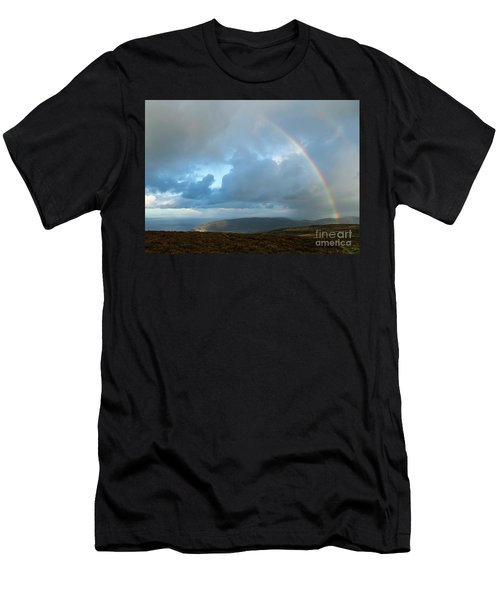 Rainbow Over Porlock Hill Men's T-Shirt (Athletic Fit)
