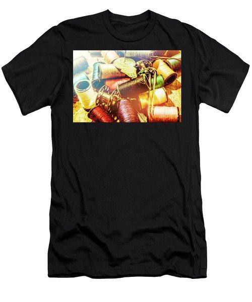 Rainbow Sew Men's T-Shirt (Athletic Fit)