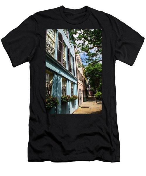 Rainbow Street Men's T-Shirt (Athletic Fit)
