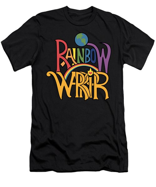 Rainbow Warrior Men's T-Shirt (Athletic Fit)