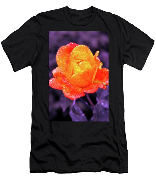 Raindrops On Roses Men's T-Shirt (Athletic Fit)
