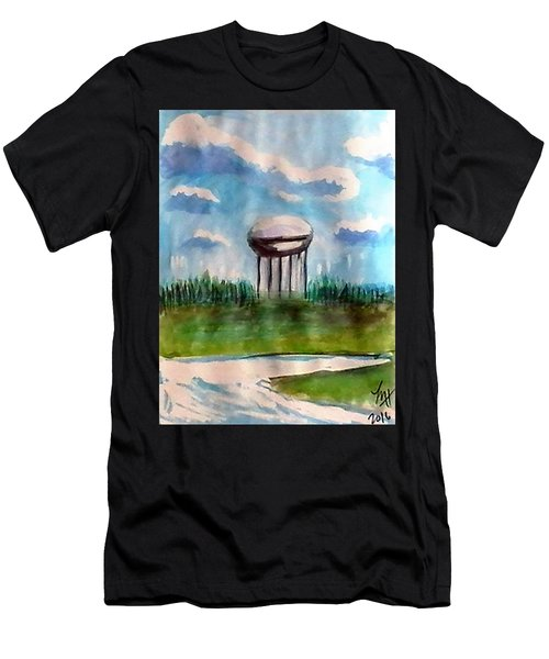 Raines Road Watertower Men's T-Shirt (Athletic Fit)