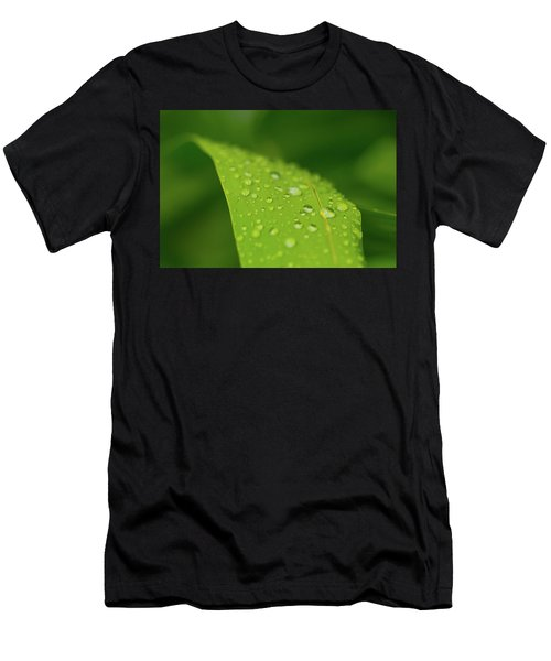 Men's T-Shirt (Athletic Fit) featuring the photograph Rainfall by SR Green
