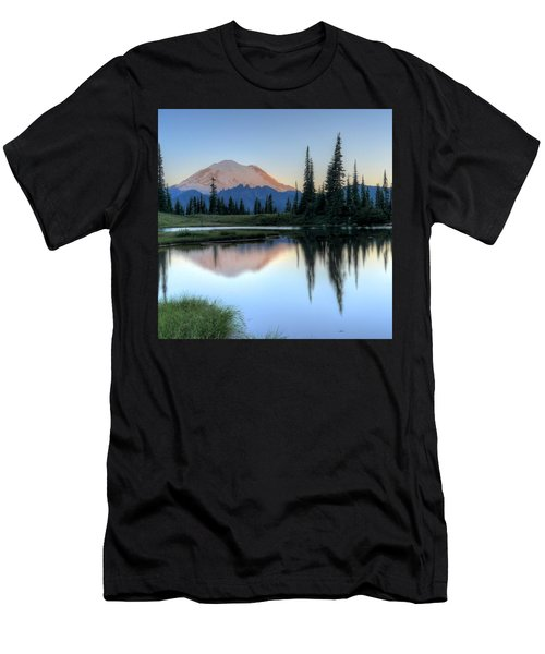 Rainier From Tipsoo Men's T-Shirt (Athletic Fit)
