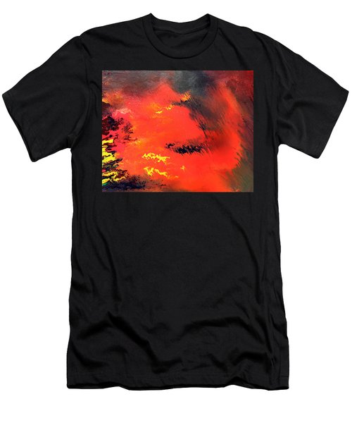 Raining Fire Men's T-Shirt (Athletic Fit)