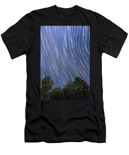 Raining Stars In Ruidoso Men's T-Shirt (Athletic Fit)