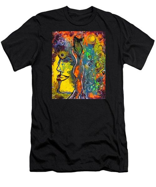 Rainsunbow Men's T-Shirt (Athletic Fit)