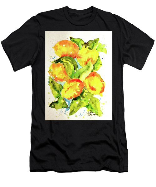 Rainwashed Lemons Men's T-Shirt (Athletic Fit)