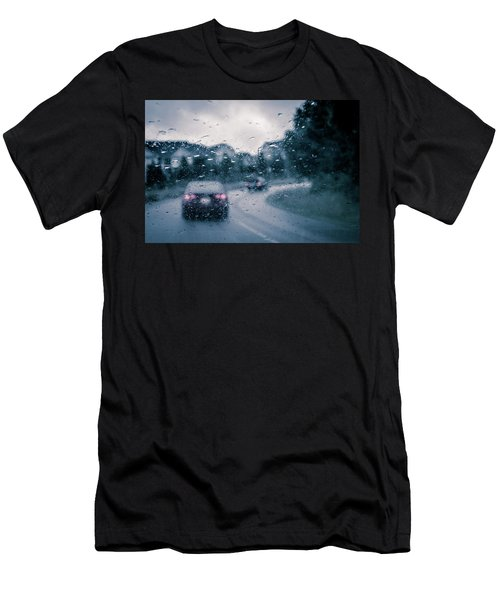Rainy Day In June Men's T-Shirt (Athletic Fit)