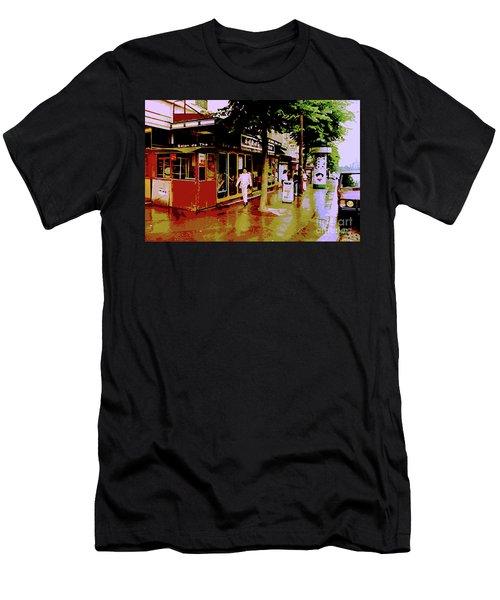 Rainy Day In Paris Men's T-Shirt (Athletic Fit)
