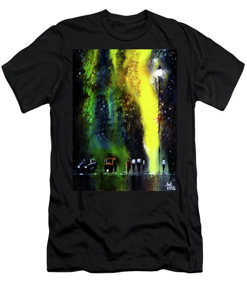 Rainy Evening Men's T-Shirt (Athletic Fit)