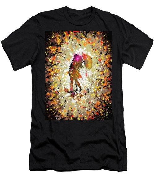 Rainy Love Men's T-Shirt (Athletic Fit)
