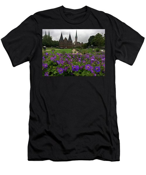 Rainy Luebeck Is Beautiful Men's T-Shirt (Athletic Fit)