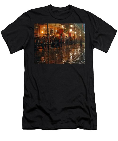 Rainy Night In Gainesville Men's T-Shirt (Athletic Fit)