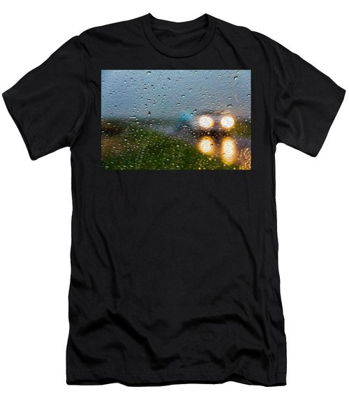 Rainy Ride Men's T-Shirt (Athletic Fit)