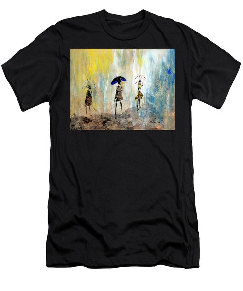 Rainydaywalk Men's T-Shirt (Athletic Fit)