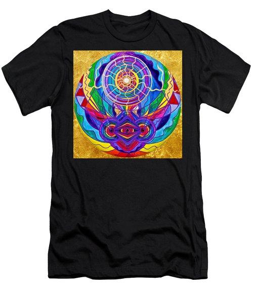 Raise Your Vibration Men's T-Shirt (Athletic Fit)