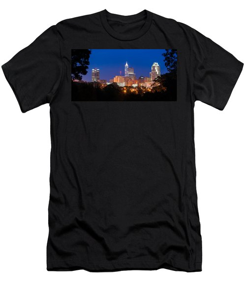 Raleigh Skyline Men's T-Shirt (Athletic Fit)