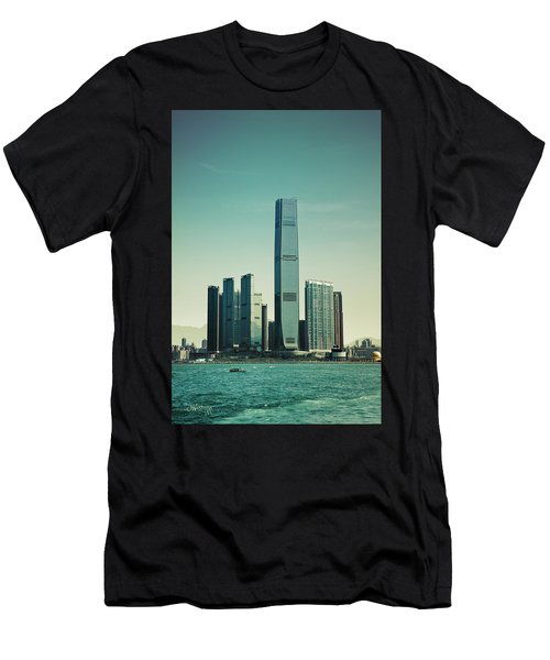 Ramparts Of Commerce Men's T-Shirt (Slim Fit) by Joseph Westrupp
