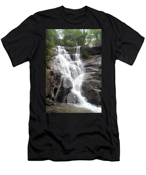 Ramsay Cascade Smoky Mountains National Park Men's T-Shirt (Athletic Fit)