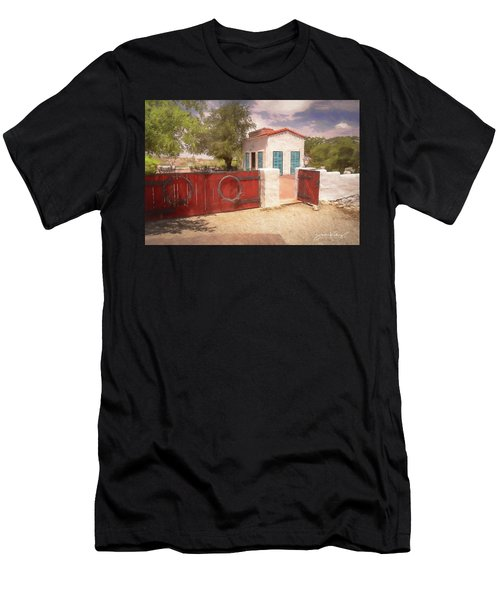 Ranch Family Homestead Men's T-Shirt (Athletic Fit)