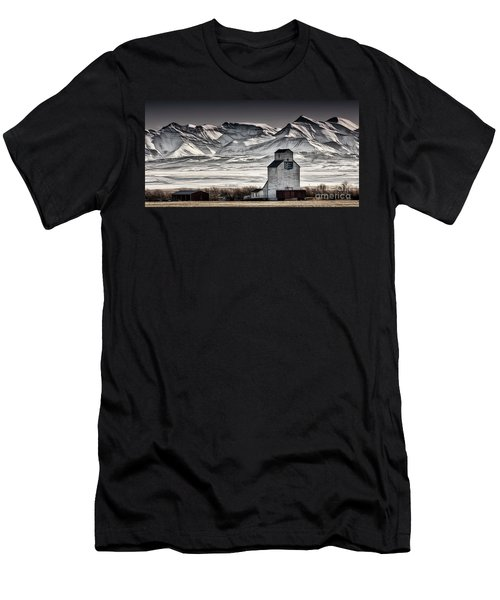 Ranchland Elevator Men's T-Shirt (Athletic Fit)