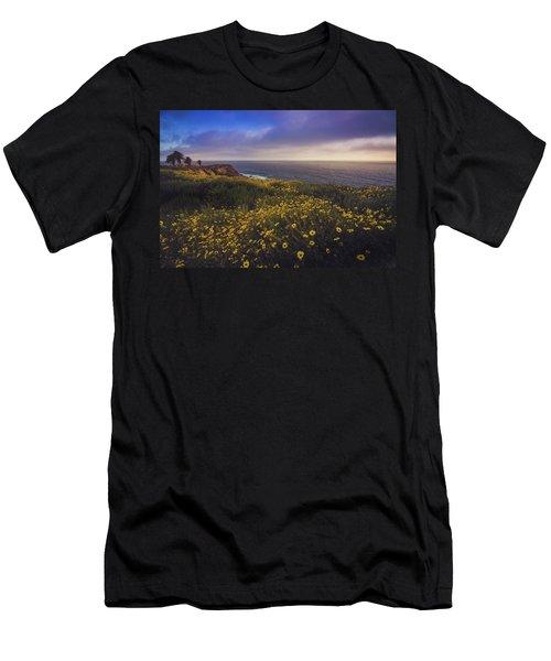 Rancho Palos Verdes Super Bloom Men's T-Shirt (Athletic Fit)