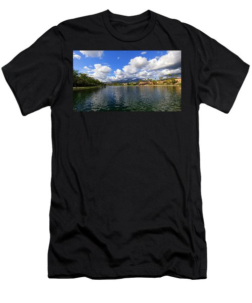 Rancho Santa Margarita Lake Men's T-Shirt (Athletic Fit)