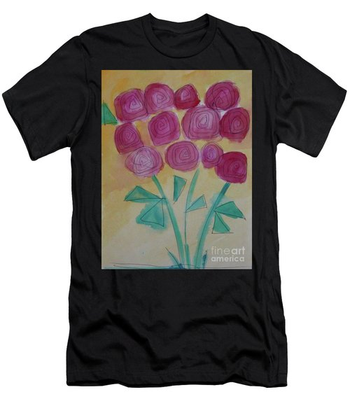 Randi's Roses Men's T-Shirt (Athletic Fit)