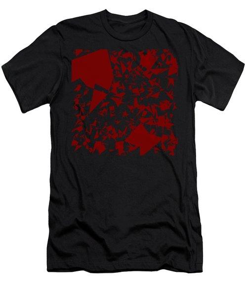 Random Shreds Men's T-Shirt (Athletic Fit)