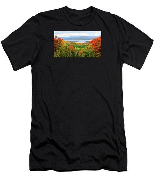 Rangeley Lake And Rangeley Plantation Men's T-Shirt (Athletic Fit)