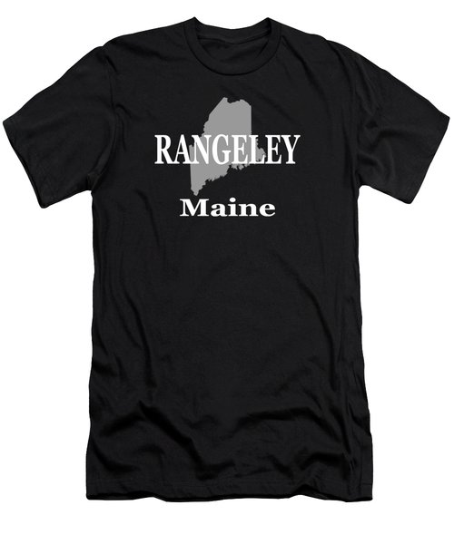 Rangeley Maine State City And Town Pride  Men's T-Shirt (Athletic Fit)