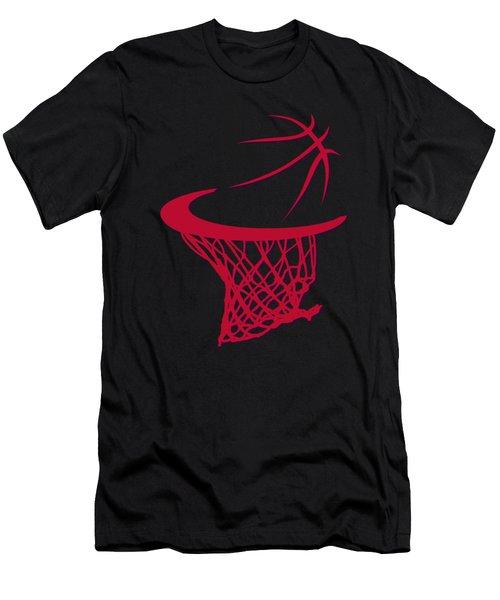 Raptors Basketball Hoop Men's T-Shirt (Athletic Fit)