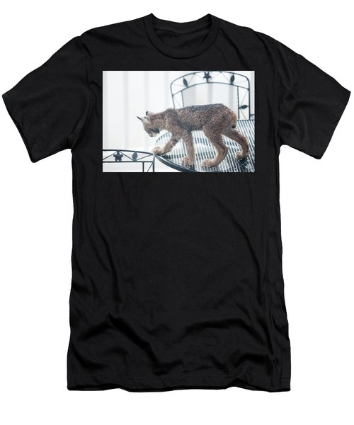 Men's T-Shirt (Athletic Fit) featuring the photograph The Table Is Set by Tim Newton
